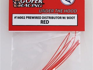 Gofer Prewired Distributor With Boot - Red
