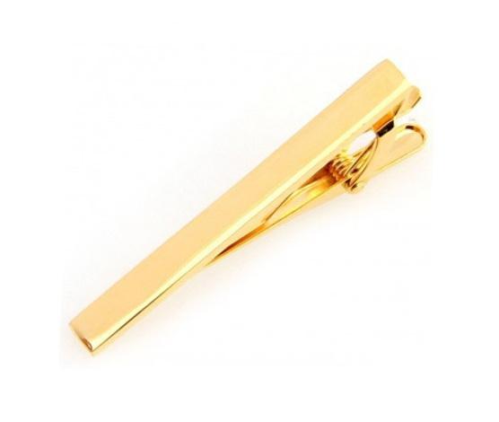 Gold Coloured Tie Clip