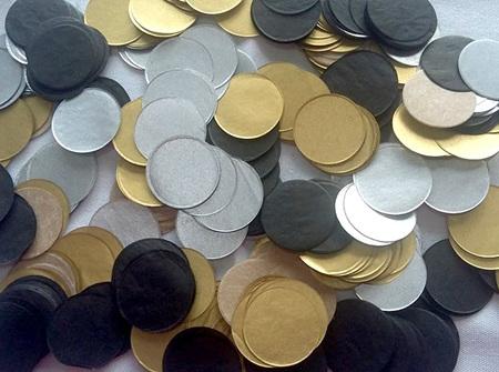 Gold Deco confetti