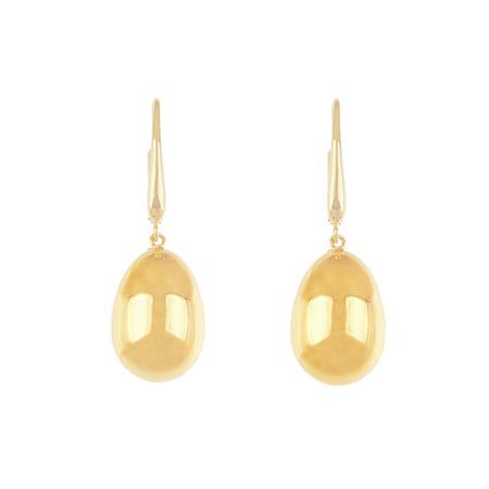 Gold Droplet Earrings
