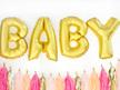 Gold Foil Letter Balloon ' B '