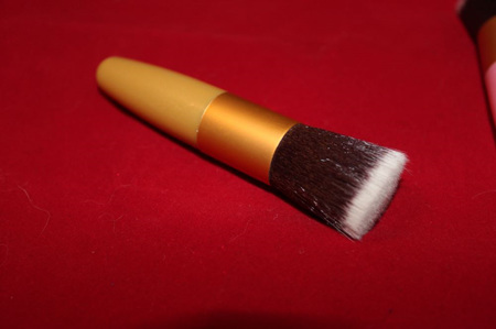 Gold Make up Blush Brush