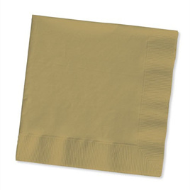 Gold napkins - pack of 50