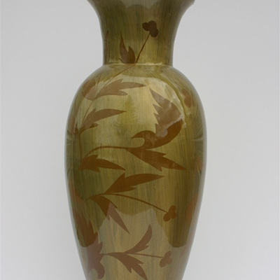 Gold Bamboo Vase