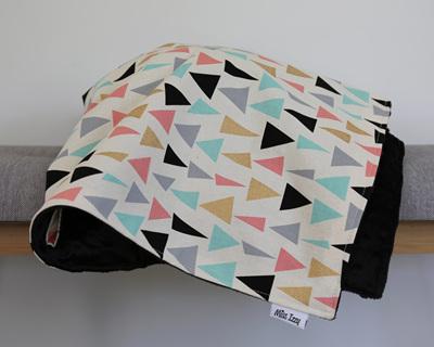 Golden Triangles Blanket