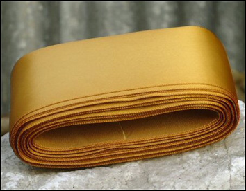 Gold Wedding Car Ribbon