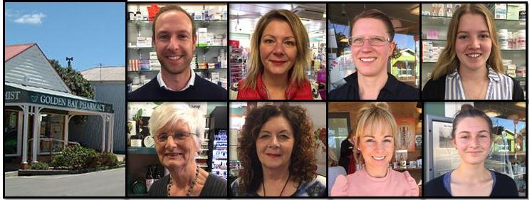 Golden Bay Pharmacy team