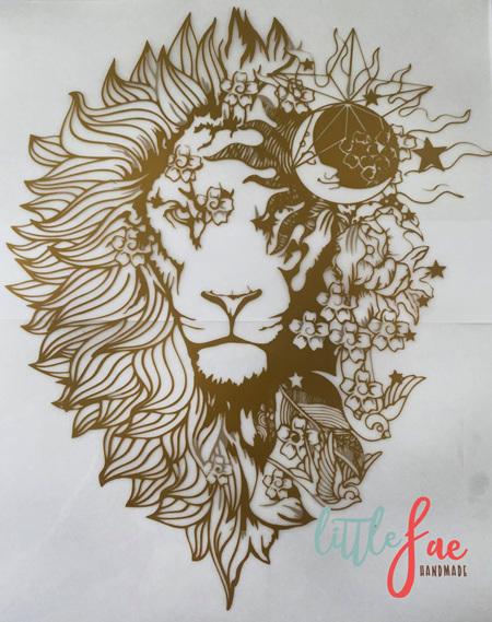 Golden Lion Heat Press Vinyl