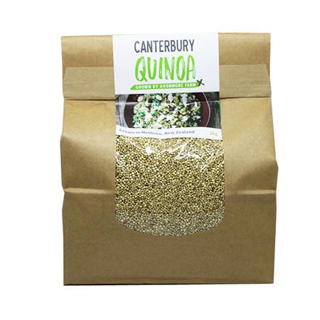 Golden quinoa