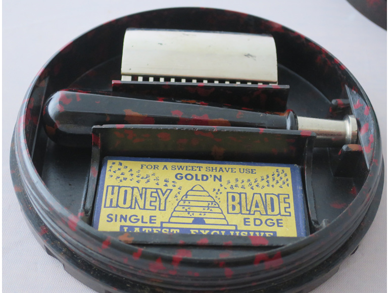 Gold'N Honey razor blade set