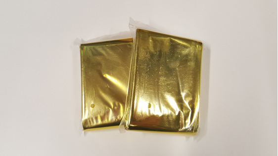 Gold/Silver Thermal Blanket (2Pk)