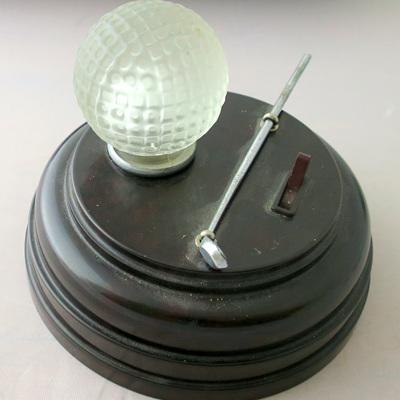 Golf lamp bakelite base