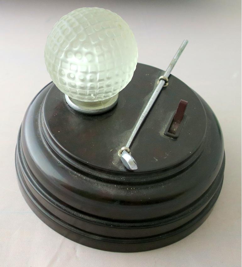 Golf ball table lamp