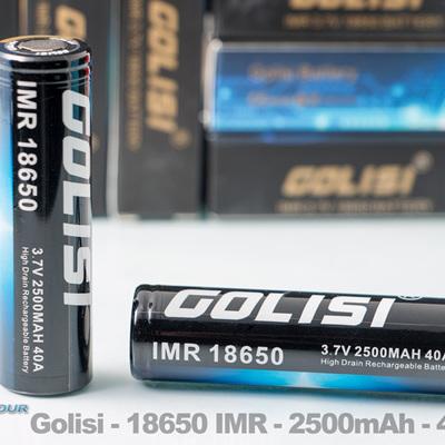Golisi - 18650 IMR - 2500mAh - 40A