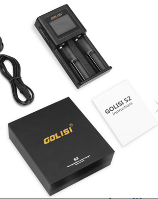 Golisi S2 2.0A Smart Charger with LCD Screen - NZ/AU Plug