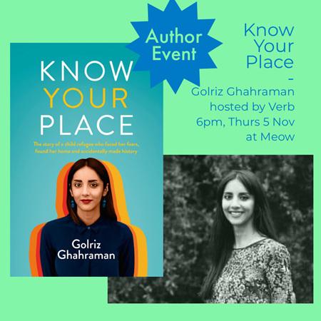 Golriz Ghahraman: Know Your Place