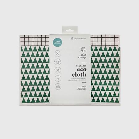 Good Change Reusable Eco Cloth - 2 pk