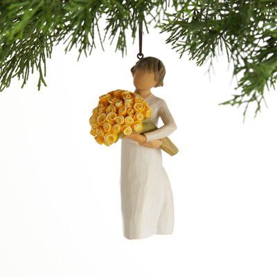 Good Cheer hanging ornament - Willow Tree