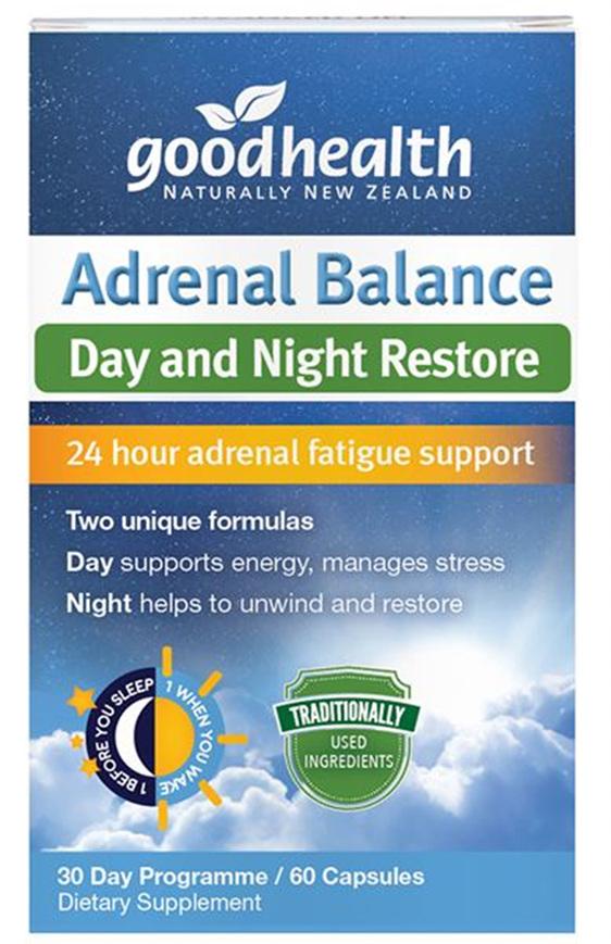 Good Health - Adrenal Balance - 60 Capsules