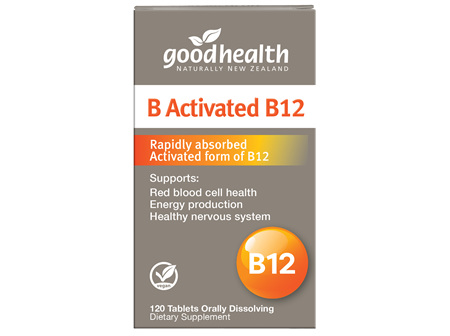 Good Health - B Activated B12 - 120 Tablets