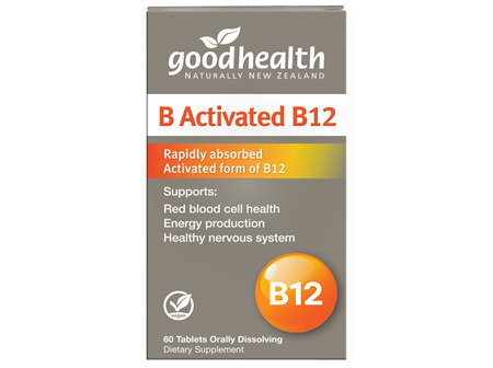 Good Health - B Activated B12 - 60 Tablets