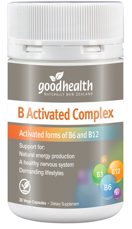 Good Health - B Activated Complex - 30 Capsules