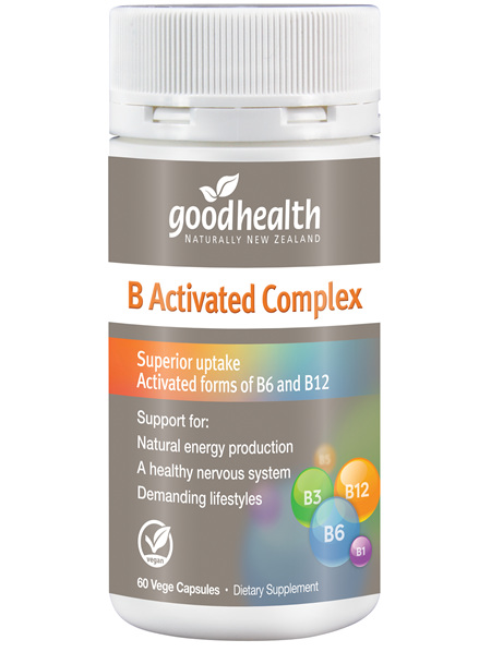 Good Health - B Activated Complex - 60 Capsules