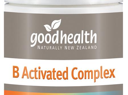 Good Health - B Activated Complex - 60 Capsules