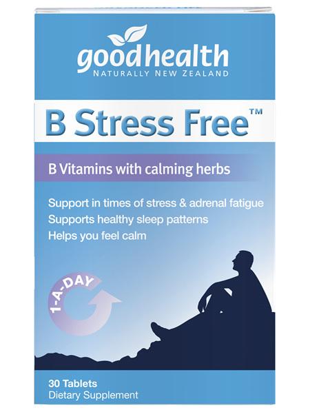 Good Health - B-Stress Free - 30 tablets