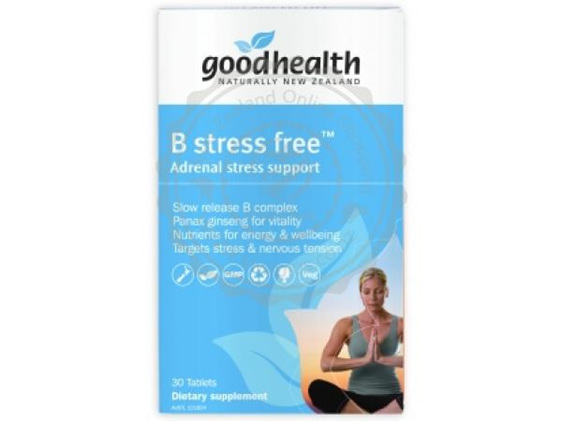 Good Health B stress free™ - 60 tablets (30 tablets in picture)
