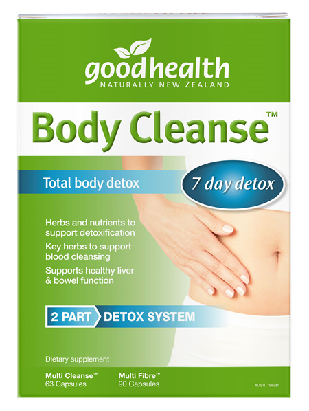 Good Health - Body Cleanse Total Detox Pack (2 Bottles)