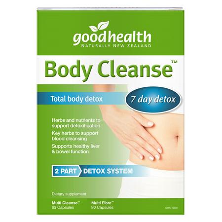 Good Health - Body Cleanse Total Detox Pack (2 Bottles)