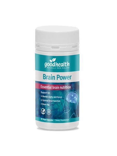 Good Health - Brain Power - 60 Capsules