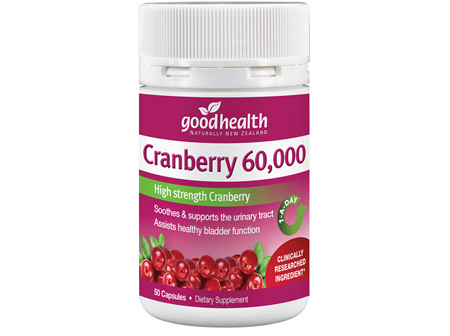 Good Health - Cranberry 60,000 - 50 Capsules
