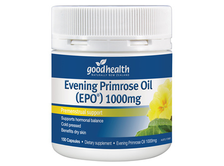Good Health - Evening Primrose Oil (EPO) - 150 Capsules