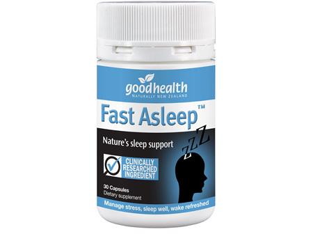 Good Health - Fast Asleep - 30 Capsules