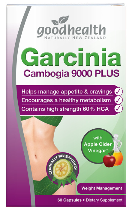 Good Health - Garcinia Cambogia 9000 with Apple Cider Vinegar - 60 Capsules
