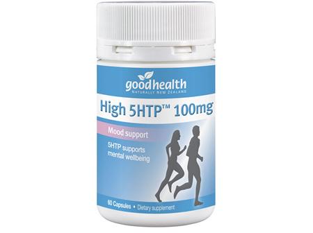 Good Health - High 5HTP 100mg - 60 Capsules