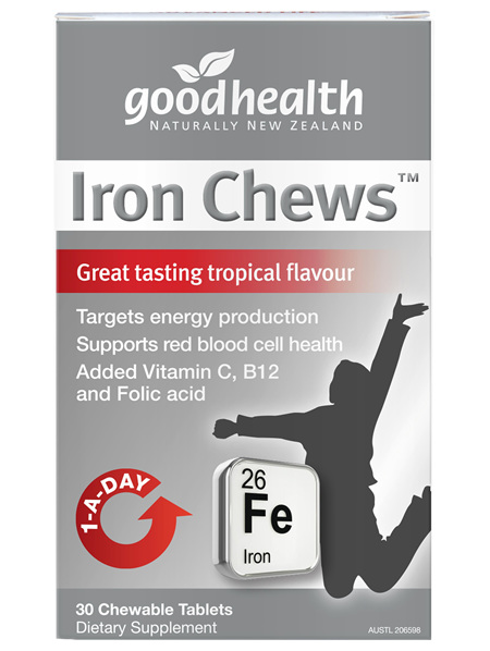 Good Health - Iron Chews - 30 Tablets
