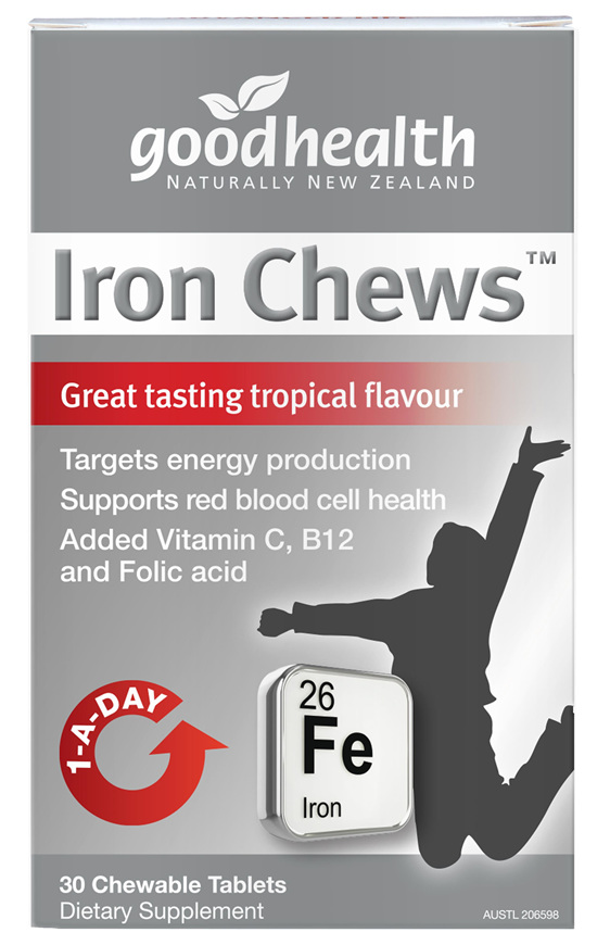 Good Health - Iron Chews - 30 Tablets