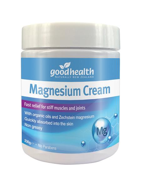 Good Health - Magnesium Cream - 230g