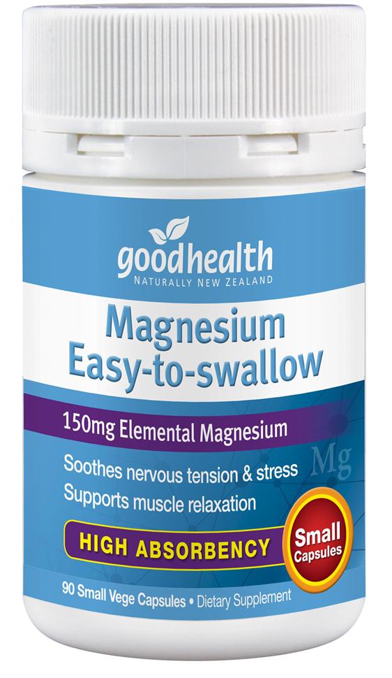 Good Health - Magnesium Easy-to-Swallow - 90 Capsules