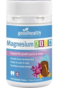 Good Health Magnesium Kids Tablets 100s