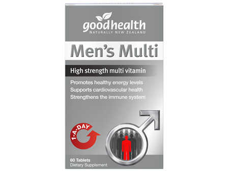 Good Health - Men's Multi - 60 Tablets