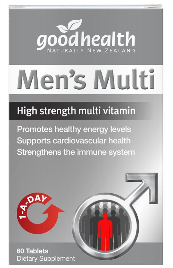 Good Health - Men's Multi - 60 Tablets