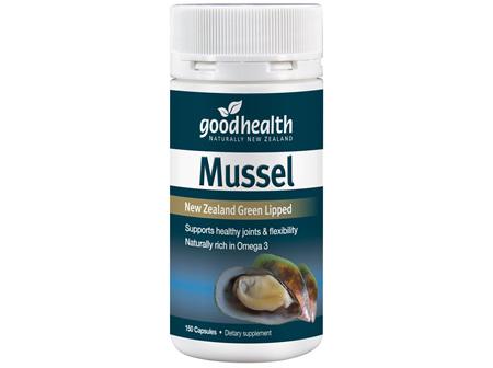 Good Health - Mussel - 150 Capsules