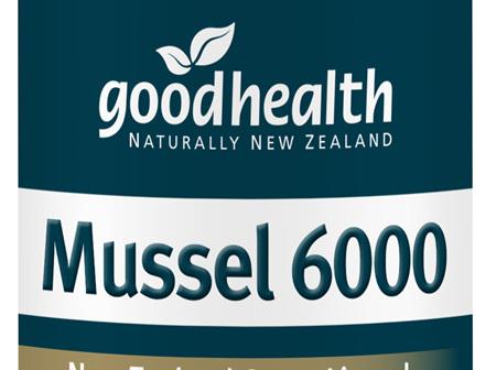 Good Health - Mussel 6,000 - 100 Capsules