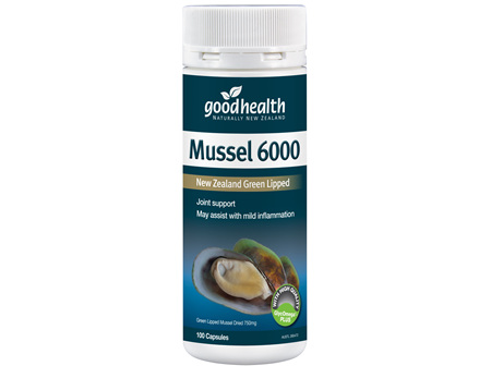 Good Health - Mussel 6,000 - 100 Capsules