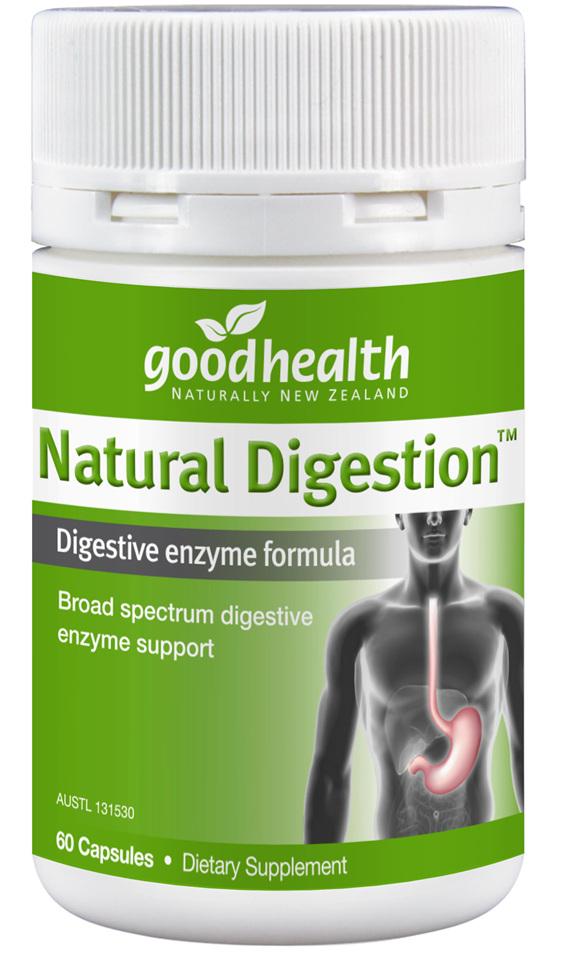 Good Health - Natural Digestion 60 capsules