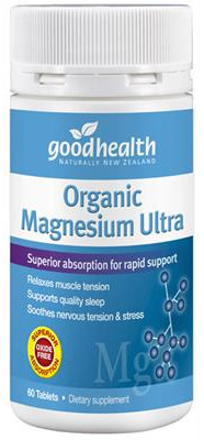 Good Health NZ Magnesium ultra  120 tabs 60 tablets in photo